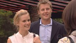 Elle Robinson, Oliver Barnes, Rebecca Napier  in Neighbours Episode 5275