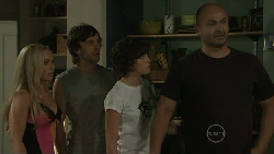 Nicola West, Riley Parker, Bridget Parker, Steve Parker in Neighbours Episode 5452