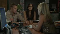 Oliver Barnes, Carmella Cammeniti, Samantha Fitzgerald in Neighbours Episode 5453