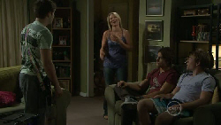 Declan Napier, Steph Scully, Ty Harper, Ringo Brown in Neighbours Episode 5455