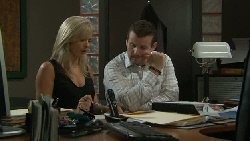 Samantha Fitzgerald, Toadie Rebecchi in Neighbours Episode 5456