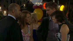 Steve Parker, Miranda Parker, Chris Knight, Bridget Parker in Neighbours Episode 5456