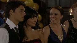 Zeke Kinski, Taylah Jordan, Libby Kennedy in Neighbours Episode 5456