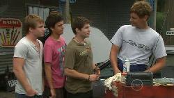 Ringo Brown, Zeke Kinski, Declan Napier, Ned Parker in Neighbours Episode 5461