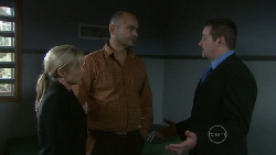 Samantha Fitzgerald, Steve Parker, Toadie Rebecchi in Neighbours Episode 5462