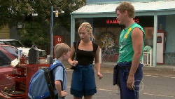 Mickey Gannon, Kirsten Gannon, Ned Parker in Neighbours Episode 5463