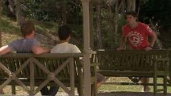 Ringo Brown, Zeke Kinski, Declan Napier in Neighbours Episode 5463