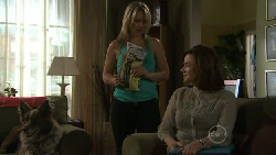 Harvey, Steph Scully, Lyn Scully in Neighbours Episode 5464