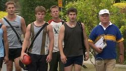 Dan Fitzgerald, Ringo Brown, Oliver Barnes, Declan Napier, Lou Carpenter in Neighbours Episode 5464