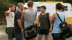 Oliver Barnes, Steve Parker, Dan Fitzgerald, Declan Napier, Marco Silvani, Ringo Brown in Neighbours Episode 5464