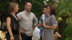 Miranda Parker, Steve Parker, Declan Napier, Rebecca Napier in Neighbours Episode 5467