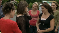 Susan Kennedy, Lyn Scully, Steph Scully, Rebecca Napier, Miranda Parker in Neighbours Episode 5468