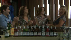 Declan Napier, Rebecca Napier, Libby Kennedy, Steph Scully in Neighbours Episode 5472