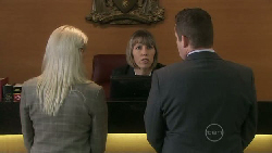 Samantha Fitzgerald, Toadie Rebecchi in Neighbours Episode 5473