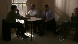 Detective Alec Skinner, Steve Parker, Toadie Rebecchi, Samantha Fitzgerald in Neighbours Episode 5473