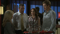 Samantha Fitzgerald, Karl Kennedy, Libby Kennedy, Dan Fitzgerald in Neighbours Episode 5473