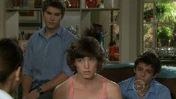 Rachel Kinski, Declan Napier, Bridget Parker, Zeke Kinski in Neighbours Episode 5474