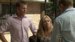 Oliver Barnes, Samantha Fitzgerald, Dan Fitzgerald in Neighbours Episode 5475