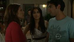 Rebecca Napier, Declan Napier, Carmella Cammeniti, Marco Silvani in Neighbours Episode 5479
