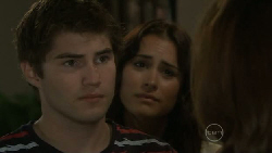 Declan Napier, Carmella Cammeniti, Rebecca Napier in Neighbours Episode 5479