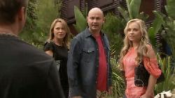 Pete Ferguson, Miranda Parker, Steve Parker, Nicola West in Neighbours Episode 5479