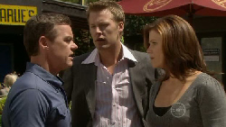 Paul Robinson, Oliver Barnes, Rebecca Napier in Neighbours Episode 5480