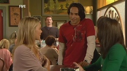 Donna Freedman, Lucas Fitzgerald, Mark Clancey, Kate Ramsay in Neighbours Episode 5966