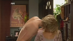 Andrew Robinson, Donna Freedman, Ringo Brown in Neighbours Episode 5966