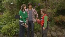 Kate Ramsay, Declan Napier, Callum Jones in Neighbours Episode 5966