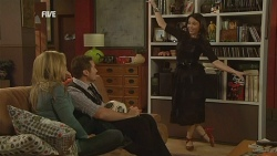 Steph Scully, Toadie Rebecchi, Libby Kennedy in Neighbours Episode 5967