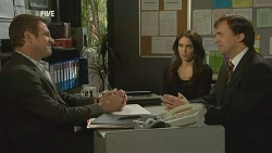 Michael Williams, Libby Kennedy, David Whitaker in Neighbours Episode 5994