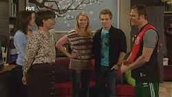 Kate Ramsay, Prue Brown, Donna Freedman, Ringo Brown, Leigh