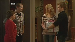 Callum Jones, Toadie Rebecchi, Donna Freedman, Ringo Brown in Neighbours Episode 5996