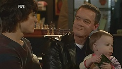 Declan Napier, Paul Robinson, India Napier in Neighbours Episode 5996