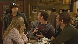 Declan Napier, Natasha Williams, Lucas Fitzgerald, Michael Williams in Neighbours Episode 5997