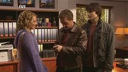 Donna Freedman, Paul Robinson, Declan Napier in Neighbours Episode 5997