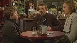 Callum Jones, Toadie Rebecchi, Sonya Mitchell in Neighbours Episode 5999