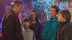 Toadie Rebecchi, Ben Kirk, Sophie Ramsay, Susan Kennedy, Callum Jones in Neighbours Episode 5999
