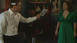 Paul Robinson, Rebecca Napier in Neighbours Episode 6000