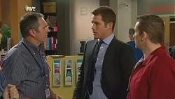 Karl Kennedy, Mark Brennan, Toadie Rebecchi in Neighbours Episode 6001