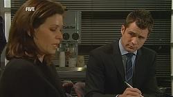 Rebecca Napier, Mark Brennan in Neighbours Episode 6001