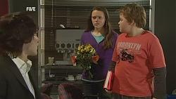 Declan Napier, Sophie Ramsay, Callum Jones in Neighbours Episode 6002