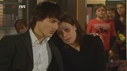 Declan Napier, Rebecca Napier, Callum Jones, Sophie Ramsay in Neighbours Episode 6002