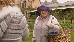 Donna Freedman, Mrs June Thomas in Neighbours Episode 6002
