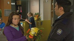 Sophie Ramsay, Police Guard in Neighbours Episode 6002