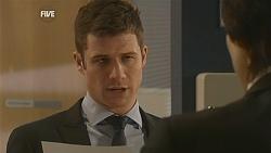 Mark Brennan, Declan Napier in Neighbours Episode 6002