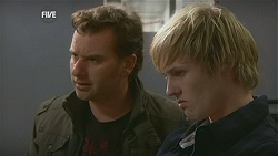 Lucas Fitzgerald, Andrew Robinson in Neighbours Episode 6004