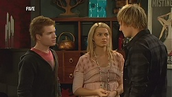 Ringo Brown, Donna Freedman, Andrew Robinson in Neighbours Episode 6004