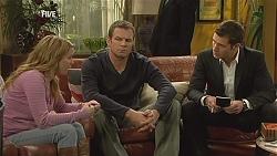 Natasha Williams, Michael Williams, Mark Brennan in Neighbours Episode 6004