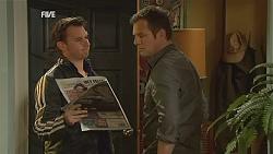 Lucas Fitzgerald, Michael Williams in Neighbours Episode 6004